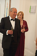 MARK WEISS; CATHERINE WEISS, Mark Weiss dinner, Nationaal Portrait Gallery. London. 15 October 2012.