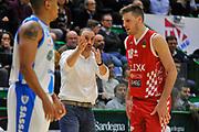 Vincenzo Esposito - Magro Daniele<br /> Banco di Sardegna Dinamo Sassari - The Flexx Pistoia<br /> LegaBasket Serie A LBA Poste Mobile 2017/2018<br /> Sassari 16/12/2017<br /> Foto Ciamillo-Castoria