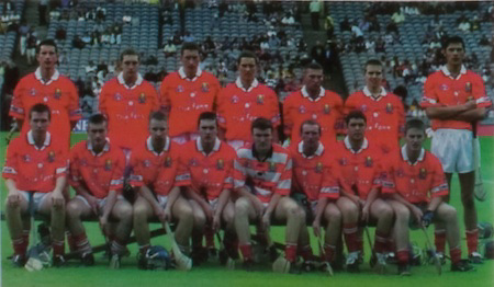 All Ireland Senior Hurling Championship Final,.09.09.2001, 9th September 2001,.Minor Cork 2-10, Galway 1-8,.Senior Tipperary 2-18, Galway 2-15,  .09092001AISHCF,.Cork, 1 Martin Coleman, Ballinhassig, 2 Jerry O'Mahony, Newtownshandrum, 3 Cian O'Connor, Erin's Own, 4 Kevin Goggin, Sarsfield, 5 Shane Murphy, Erin's Own, 6 Shane Murphy, Erin's Own,  7 Michael Prout, Shamrocks, 8 Kevin Hartnett, Russell Rovers, 9 Brian Smidy, Castlemartyr, 10 Kieran Murphy, Erin's Own, 11 Tomas O'Leary, Erin's Own, 12 John O'Connor, Newtownshandrum, 13 Kieran Murphy, Sarsfield, 14 Setanta O hAilpin, Na Piarsaigh, 15 Fergus Murphy, subs, Antony Nash, PJ Copse, Tagdh Healy, Richard Relihan, Gerard McCarthy, Peter Morgan, Diarmuid O'Riordan, Michael O'Donovan, Stephen O'Sullivan, ..