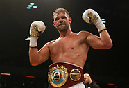 Billy Joe Saunders v Willie Monroe Jnr - WBO World Middleweight Championship - 16 September