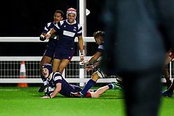 - Rogan/JMP - 19/12/2019 - RUGBY UNION - Newlands Park - Cheltenham, England - Gloucester Rugby U18 v Bristol Bears U18 - Premiership Rugby U18 Academy League.