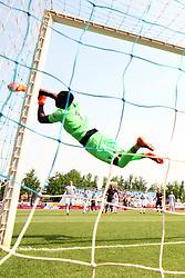 """Foto Filippo Rubin<br /> 06/05/2018 Ferrara (Italia)<br /> Sport Calcio<br /> Spal - Benvento - Campionato di calcio Serie A 2017/2018 - Stadio """"Paolo Mazza""""<br /> Nella foto: PARATA DI ALFRED GOMIS (SPAL)<br /> <br /> Photo Filippo Rubin<br /> May 06, 2018 Ferrara (Italy)<br /> Sport Soccer<br /> Spal vs Benvento - Italian Football Championship League A 2017/2018 - """"Paolo Mazza"""" Stadium <br /> In the pic: ALFRED GOMIS (SPAL)"""