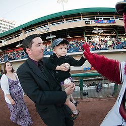 041014 - Reno Aces Celebrate Marriage Photos