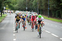 A view of the riders as they race in the Prudential RideLondon-Surrey Classic 30/07/2017<br /> <br /> Photo: Jon Buckle/Silverhub for Prudential RideLondon<br /> <br /> Prudential RideLondon is the world's greatest festival of cycling, involving 100,000+ cyclists – from Olympic champions to a free family fun ride - riding in events over closed roads in London and Surrey over the weekend of 28th to 30th July 2017. <br /> <br /> See www.PrudentialRideLondon.co.uk for more.<br /> <br /> For further information: media@londonmarathonevents.co.uk
