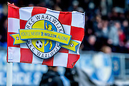 Onderwerp/Subject: RKC Waalwijk - Eredivisie<br /> Reklame:  <br /> Club/Team/Country: <br /> Seizoen/Season: 2012/2013<br /> FOTO/PHOTO: Corner flag of RKC Waalwijk. (Photo by PICS UNITED)<br /> <br /> Trefwoorden/Keywords: <br /> #16 $94 &plusmn;1342783437660<br /> Photo- &amp; Copyrights &copy; PICS UNITED <br /> P.O. Box 7164 - 5605 BE  EINDHOVEN (THE NETHERLANDS) <br /> Phone +31 (0)40 296 28 00 <br /> Fax +31 (0) 40 248 47 43 <br /> http://www.pics-united.com <br /> e-mail : sales@pics-united.com (If you would like to raise any issues regarding any aspects of products / service of PICS UNITED) or <br /> e-mail : sales@pics-united.com   <br /> <br /> ATTENTIE: <br /> Publicatie ook bij aanbieding door derden is slechts toegestaan na verkregen toestemming van Pics United. <br /> VOLLEDIGE NAAMSVERMELDING IS VERPLICHT! (&copy; PICS UNITED/Naam Fotograaf, zie veld 4 van de bestandsinfo 'credits') <br /> ATTENTION:  <br /> &copy; Pics United. Reproduction/publication of this photo by any parties is only permitted after authorisation is sought and obtained from  PICS UNITED- THE NETHERLANDS
