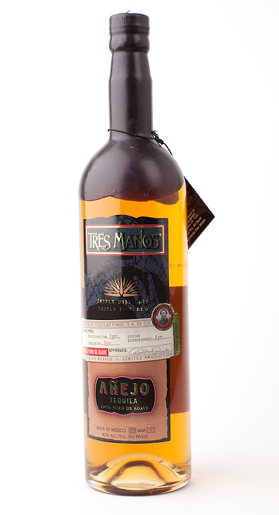 Tres Manos anejo -- Image originally appeared in the Tequila Matchmaker: http://tequilamatchmaker.com