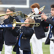 The Yale band plays during the Yale V Brown, Ivy League Football match at Yale Bowl. Yale won the match 24-17. New Haven, Connecticut, USA. 9th November 2013. Photo Tim Clayton