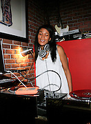 DJ Beverly Bond at the Eclectic Ride Offiicial Re-launch with performances by Emily King and Bilal at Drom on May 6, 2008  Known as the premier pillar of the eclectic soul scene, The Eclectic Ride promises to supersede its legacy starting not only with this week? headliners but within its first month featuring Dj Cassidy, Ryan Leslie, Estelle, O?eill McKnight and many other mega-watt performers every Tuesday  throughout summer evenings and months to come.   The ER will also integrate web 2.0 inter-activity into its mix and bring the experience to computers worldwide with live tapings of every show that can be accessed by fans via The Eclectic Ride site and iTunes to enjoy their favorite Ride performers.