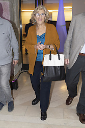May 3, 2019 - Madrid, Spain - Manuela Carmena to the party  presentation of the Mutua Madrid Open 2019, at the Prado Museum in Madrid, Spain, 03 May 2019. The Mutua Madrid Open runs from 3 until 12 May 2019. (Credit Image: © Oscar Gonzalez/NurPhoto via ZUMA Press)