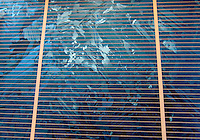 A multicrystalline Silicon solar cell