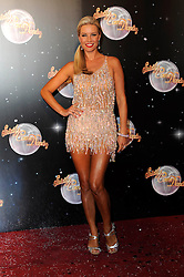 Denise Van Outen At The Official Unveiling Of The 2012 Strictly Come Dancing Line Up.BBC Television Centre, London, Tuesday September 11, 2012. Photo by i-Images