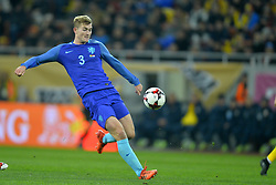 November 14, 2017 - Bucharest, Romania - Matthijs de Ligt (Ned) during the International Friendly match between Romania and Netherlands at National Arena Stadium in Bucharest, Romania, on 14 november 2017. (Credit Image: © Alex Nicodim/NurPhoto via ZUMA Press)