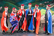 Dress rehearsal of Iolanthe performed by the Forbear! Theatre in the Royal Hall, Harrogate, England on Thursday 09 August 2018 Photo: Jane Stokes<br /> <br /> Director: Rachel Middle<br /> Assistant Director: Roland Harrad<br /> Conductor: William Remmers<br /> Choreographer: Rachel Middle<br /> <br /> Celia - Helen Clutterbuck<br /> Strephon - David Jones<br /> Iolanthe - Aimée Daniel<br /> Earl Tolloller - David Woods<br /> Phyllis - Joanna Goldspink<br /> Earl of Mountararat - Roland Harrad<br /> Fairy Queen - Kate Lowe<br /> The Lord Chancellor - Richard Naxton<br /> Leila - Isabelle Paige<br /> Private Willis - Peter Brooks<br /> <br /> Chloe Philips-Bartlett, Peter Brooks, Lizzie Lister, Peter Whiting, Darja Scukina, George Priestly, Katie Paterson, Leon Waksburg