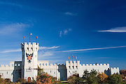Schaumburg Illinois USA, Medieval Times Dinner & Tournament Built in 1991 and covers 85,000 square feet October 2006