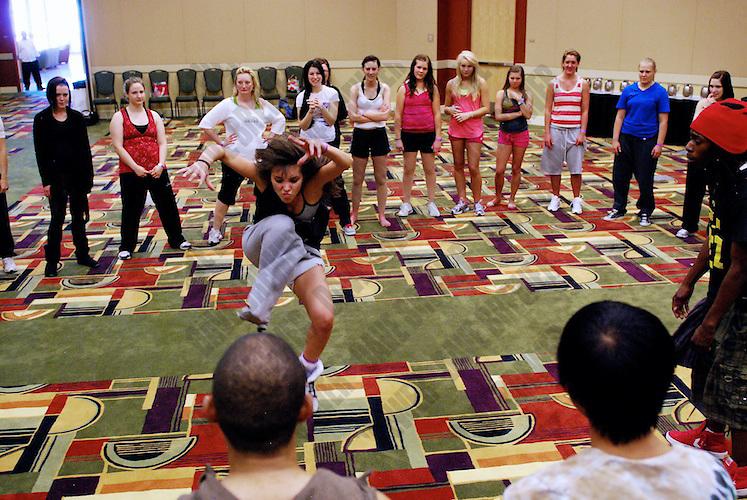 UDC Russell Ferguson, Mollee Gray and Noelle Marsh Workshop on June 5th, 2010