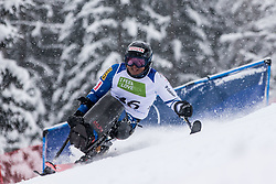Morii Taiki of Japan during Slalom race at 2019 World Para Alpine Skiing Championship, on January 23, 2019 in Kranjska Gora, Slovenia. Photo by Matic Ritonja / Sportida