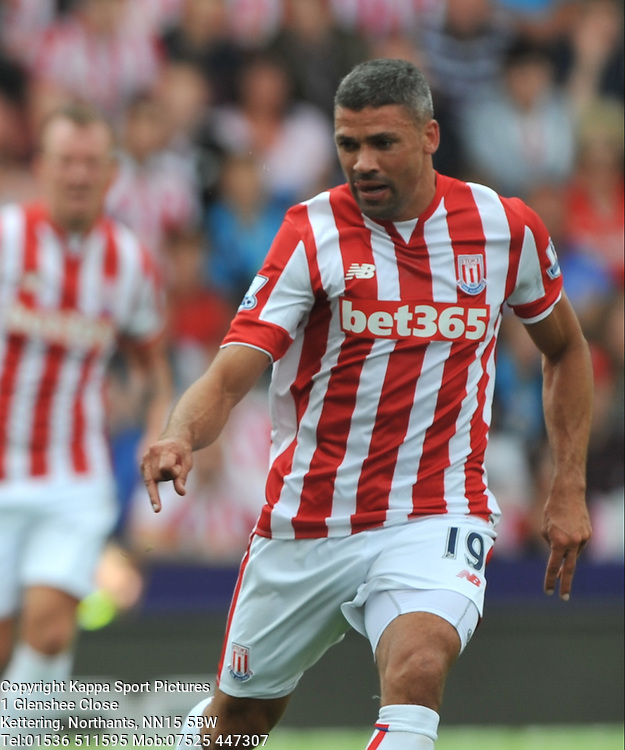 JONATAHN WALTERS STOKE CITY, Stoke City v Liverpool, Premiership, Britannia Stadium Sunday 9th August 2015