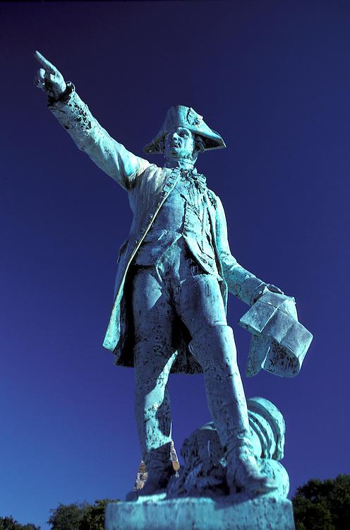 Nelson Statue, Newport, Rhode Island, USA