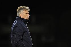 Bristol Rovers Manager, John Ward - Photo mandatory by-line: Dougie Allward/JMP - Mobile: 07966 386802 21/03/2014 - SPORT - FOOTBALL - Bristol - Memorial Stadium - Bristol Rovers v Southend United - Sky Bet League Two