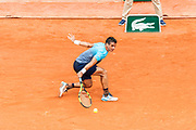 Rogerio Dutra Silva (bra) during the Roland Garros French Tennis Open 2018, day 2, on May 28, 2018, at the Roland Garros Stadium in Paris, France - Photo Pierre Charlier / ProSportsImages / DPPI