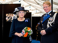 24-10-2014 APELDOORN - Princess Beatrix is present at Het Loo Palace in Apeldoorn during Wapendag of the Royal Military Police on Friday, October 24th, 2014. The annual Wapendag This year the theme of the 200th anniversary of the Royal Military Police. Princess Beatrix since 1956 Schut Lady of the Royal Military Police. COPYRIGHT ROBIN UTRECHT