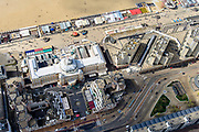Nederland, Zuid-Holland, Scheveningen, 28-04-2017; Hotel het Kurhaus,   Grand Hotel Amrâth Kurhaus The Hague.<br /> <br /> luchtfoto (toeslag op standard tarieven);<br /> aerial photo (additional fee required);<br /> copyright foto/photo Siebe Swart