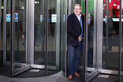 © Licensed to London News Pictures. 15/12/2019. London, UK. General Secretary of the Unite Union Len McCluskey departs the BBC.  Photo credit: George Cracknell Wright/LNP