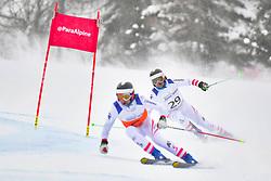 Super Combined and Super G, LAHNER Josef Guide: ERHARTER Franz, B3, AUT at the WPAS_2019 Alpine Skiing World Championships, Kranjska Gora, Slovenia