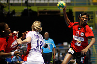 20111216: SAO PAULO, BRAZIL -<br />  XX World Handball Angola x Rússia in Ibirapuera Gym at Sao Paulo, Brazil.<br /> In photo: Luisa (Angola).<br /> PHOTO: CITYFILES