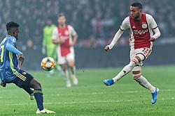 27-10-2019 NED: Ajax - Feyenoord, Amsterdam<br /> Eredivisie Round 11, Ajax win 4-0 / Hakim Ziyech #22 of Ajax