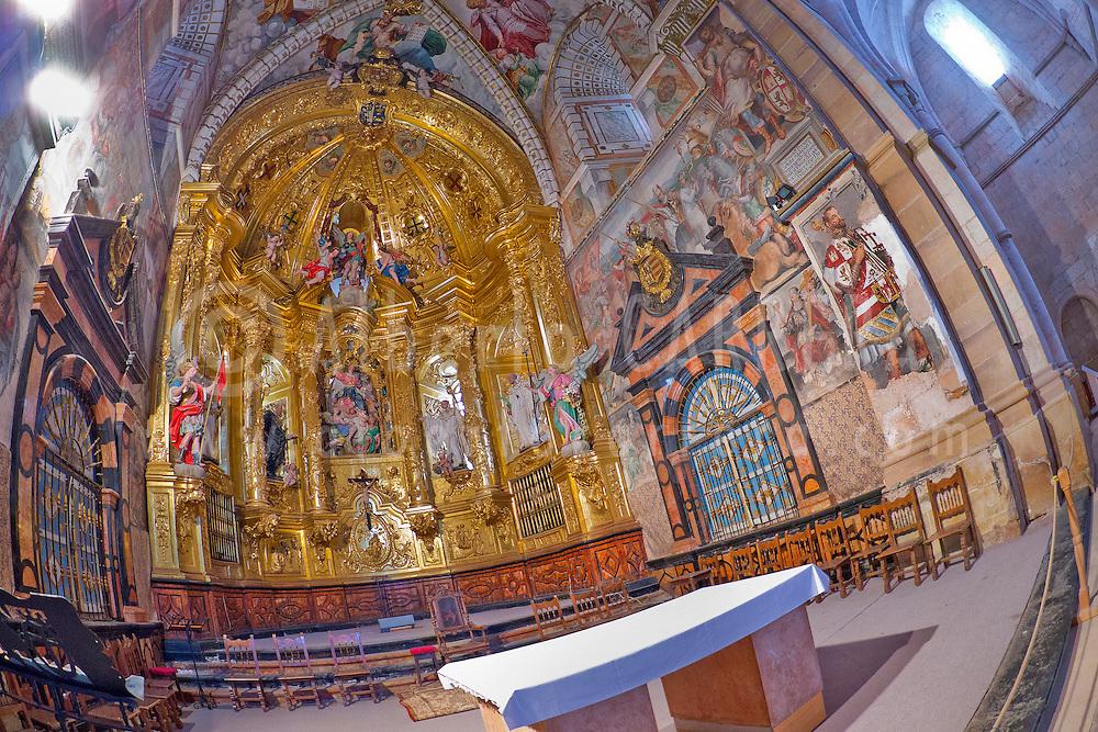 Alberto Carrera, Monastery of Santa Mar&iacute;a de Huerta, Santa Mar&iacute;a de Huerta, Soria, Castilla y Le&oacute;n, Spain, Europe<br /> <br /> EDITORIAL USE ONLY