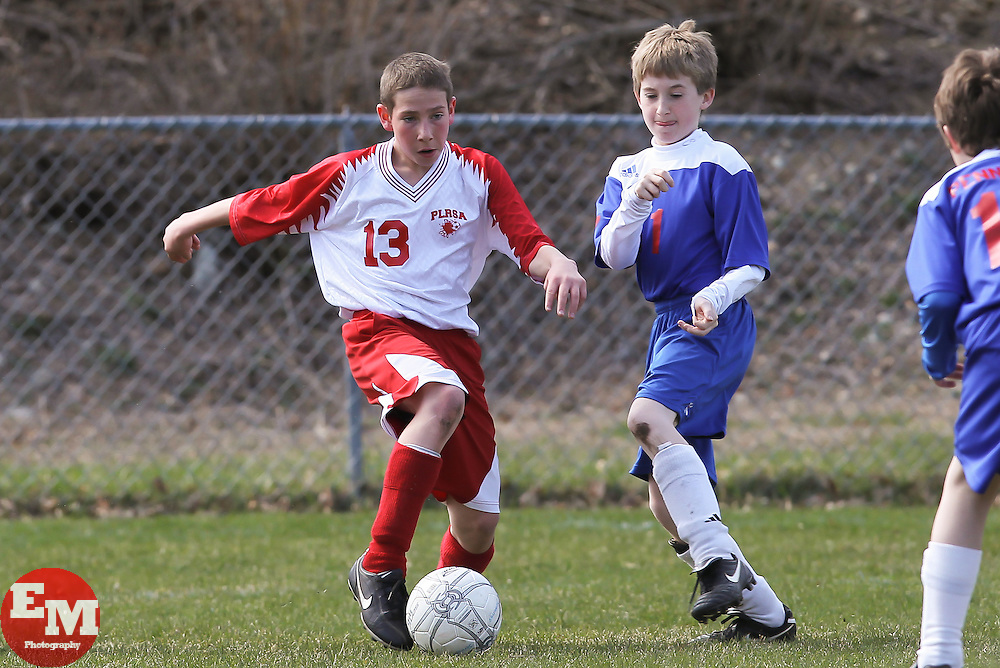 April 3, 2011; Pompton Lakes, NJ, USA; Pompton Lakes Metrostars defeat the Independence Tornados 6-2.
