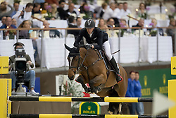 Staut Kevin, (FRA), Elky van het Indihof<br /> Credit Suisse Grand Prix<br /> CHI de Genève 2016<br /> © Hippo Foto - Dirk Caremans<br /> 08/12/2016