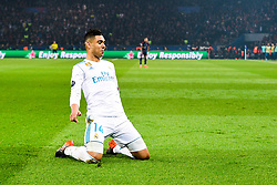 March 6, 2018 - Paris, U.S. - Casemiro (Real Madrid) during the Champions League match Real Madrid at Paris Saint-Germain on March 6, 2018 in Paris, France. (Photo by JB Autissier/Panoramic/Icon Sportswire) ****NO AGENTS---NORTH AND SOUTH AMERICA SALES ONLY****NO AGENTS---NORTH AND SOUTH AMERICA SALES ONLY* (Credit Image: © Jb Autissier/Icon SMI via ZUMA Press)