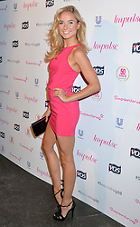 Image ©Licensed to i-Images Picture Agency. 10/06/2014.<br /> <br /> Pictured is Kimberley Garner arriving at the party.<br /> <br /> Superdrug 50th Anniversary Party at The Bankside Vaults, Southbank, London, UK.<br /> <br /> Tuesday 10th of June 2014<br /> Picture by Ben Stevens / i-Images