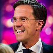 NLD/Amsterdam/20170507 - Gehandicapte Mis(s) verkiezing 2017, premier Mark Rutte
