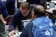 DESCRIZIONE : Beko Final Eight Coppa Italia 2016 Serie A Final8 Quarti di Finale Olimpia EA7 Emporio Armani Milano - Umana Reyer Venezia<br /> GIOCATORE : Carlo Recalcati Giulio Ciamillo<br /> CATEGORIA : Before Pregame Tifosi Pubblico Spettatori VIP<br /> EVENTO : Beko Final Eight Coppa Italia 2016<br /> GARA : Quarti di Finale Olimpia EA7 Emporio Armani Milano - Umana Reyer Venezia<br /> DATA : 19/02/2016<br /> SPORT : Pallacanestro <br /> AUTORE : Agenzia Ciamillo-Castoria/L.Canu