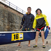 St Peter's Port, Guernsey, CHANNEL ISLANDS, DubaiRowing Club Pair 2006 FISA Coastal Rowing  Challenge,  03/09/2006.  Photo  Peter Spurrier, © Intersport Images,  Tel +44 [0] 7973 819 551,  email images@intersport-images.com