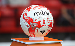 General view of the match ball before the match - Mandatory by-line: Jack Phillips/JMP - 06/08/2016 - FOOTBALL - The City Ground - Nottingham, England - Nottingham Forest v Burton Albion - EFL Sky Bet Championship