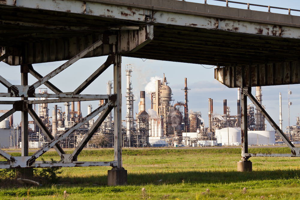 """Motiva refinery  located in the stretch between Baton Rouge and New Orleans along the Mississippi River has a large concentration of chemical and oil companies and was formerly referred to as the """"petrochemical corridor"""" but now is know as """"cancer alley"""" after numerous cases of cancer occurring in the small rural communities on both sides of the river were reported.The record high levels of the Mississippi River in the spring of 2011 brought on by what some scientists classify as climate change,  threaten the environment with the potential flooding of industrial complexes and nuclear facilities along the river."""