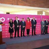 Toluca, México.- Eruviel Avila Villegas, Gobernador del Edo Mex, encabezó la inauguración centro comercial, Galerías Toluca Liverpool. Agencia MVT / Arturo Hernández.