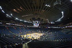October 29, 2010; Oakland, CA, USA;  General view of Oracle Arena before the game between the Golden State Warriors and the Los Angeles Clippers.