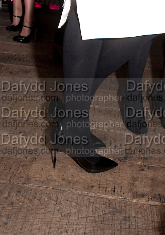 RUTH WILSON SHOES, InStyle Best Of British Talent , Shoreditch House, Ebor Street, London, E1 6AW, 26 January 2011