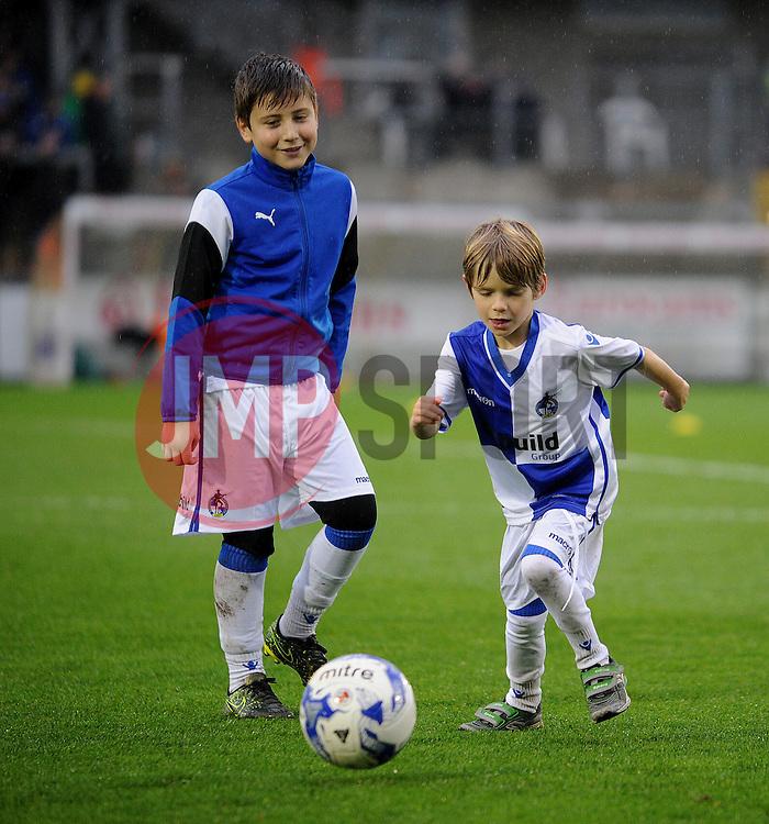 Mascots - Mandatory by-line: Neil Brookman/JMP - 10/12/2016 - FOOTBALL - Memorial Stadium - Bristol, England - Bristol Rovers v Bury - Sky Bet League One