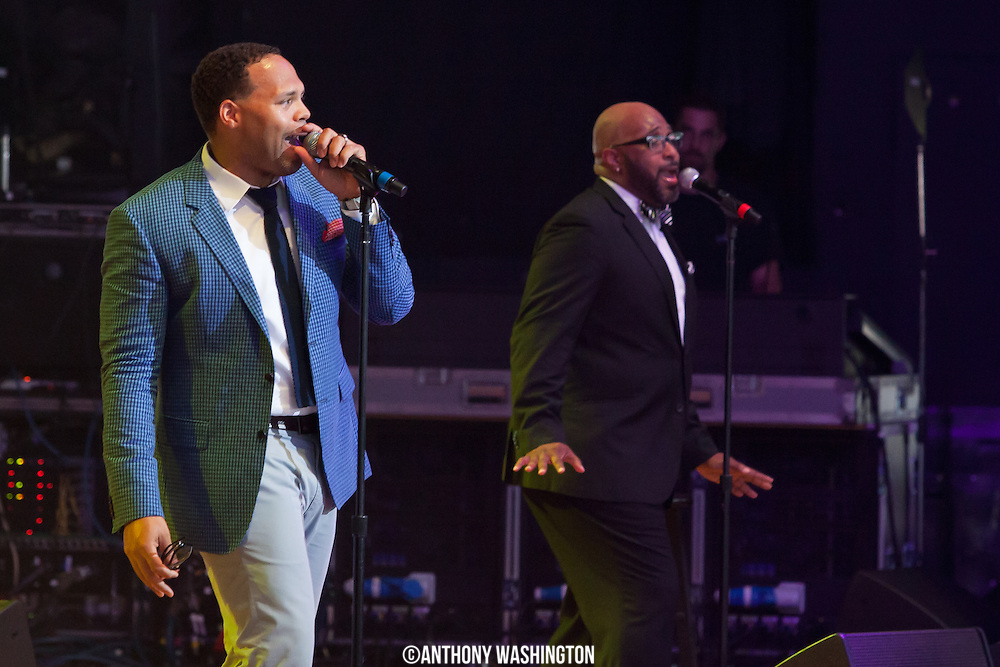 Eric Roberson performs at the Summer Spirit Festival at Merriweather Post Pavilion on Saturday, August 4, 2012 in Columbia, MD.