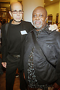 l to r: Builder Levy and Suliman at The Opening for Deb Willis' new book ' Posen Beauty ' held at NYU Tisch School of the Arts on October 8, 2009 in New york City..