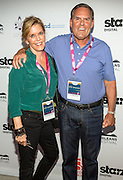Sharon and Larry Malcolmson on the red carpet during opening night of the 25th Anniversary New Orleans Film Festival; Opening night film is 'Black and White' directed by Mike Binder