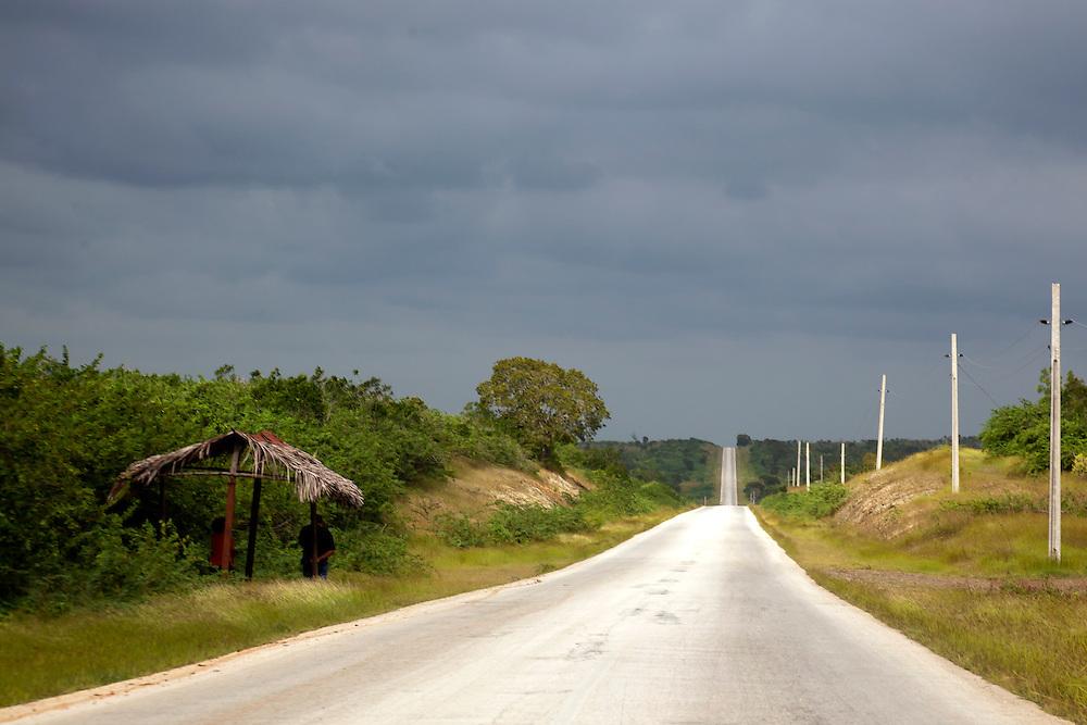 Road to San Andres, Holguin, Cuba.