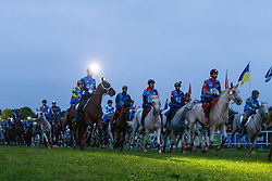 Start of the endurance - Endurance - Alltech FEI World Equestrian Games™ 2014 - Normandy, France.<br /> © Hippo Foto Team - Leanjo De Koster<br /> 25/06/14