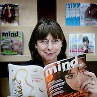 Nederland, Hoofddorp,28 juli 2008.Renie van Wijk,hoofdredacteur Mind Magazine. Renie van Wijk, editor-in-chief of Mind Magazine.